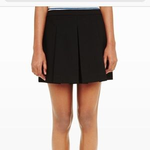 Club Monaco Black Jamila Skort Mini Skirt 4